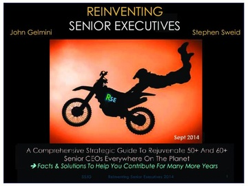 Reinventing Senior Executives: THE 50+ Guide (Course)