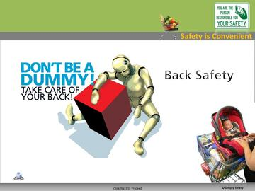 Back Safety (CS) Course