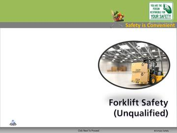 Forklift Classroom (CS) Course
