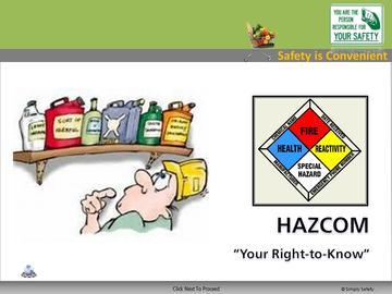 Hazcom (CS) Course