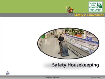 Safety Housekeeping (CS) Course