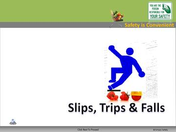 Slips Trips and Falls Course