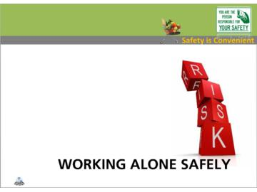 Working Alone Safely (CS) Course