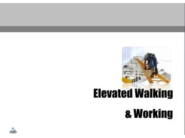 Elevated Walking and Working Surfaces
