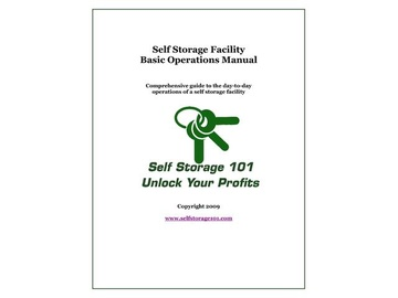Self Storage Operations Manual Course