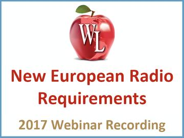 Commercial Wireless Compliance: New European Radio Requirements [2017 Webinar Recording]